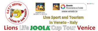 Live sport and tourism in Veneto - Italy